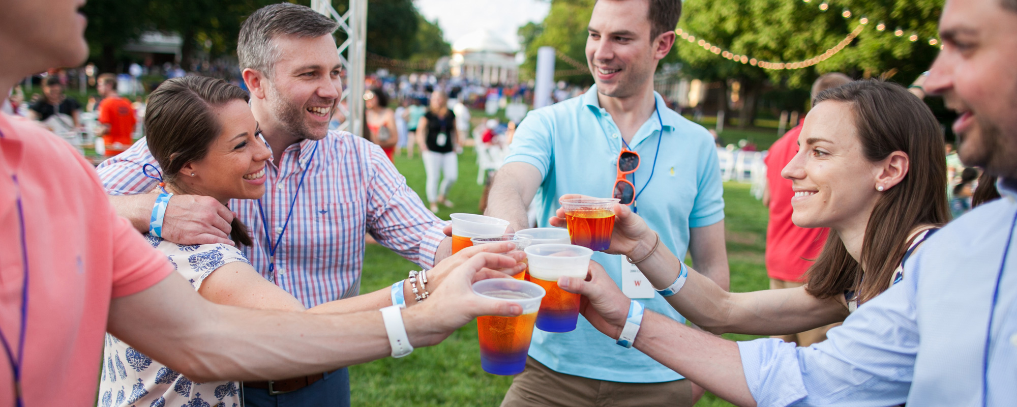 Cheers at Reunions