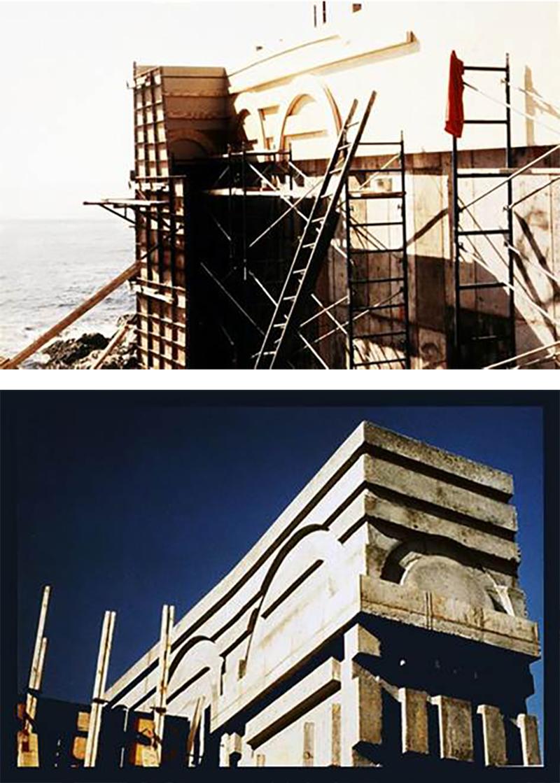 Arc Seawalls