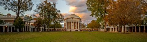 The Historic Lawn at UVA