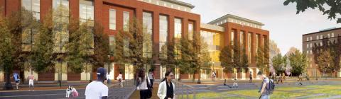 Student Health & Wellness Center Rendering