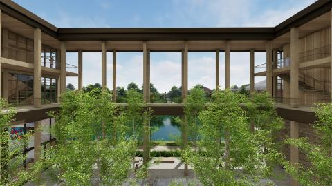 Contemplative Sciences Center Rendering
