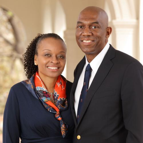 Dr. Anastasia Williams (Med '98) & Sanford Williams (Law '96)